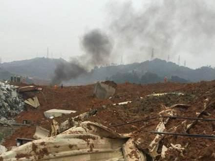 深圳山体滑坡现场救出7人41人失联