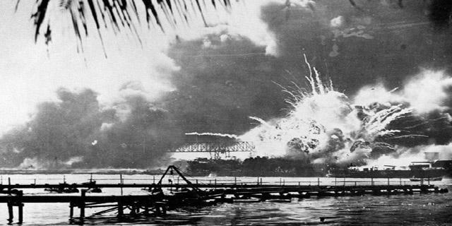 揭日本偷袭珍珠港
