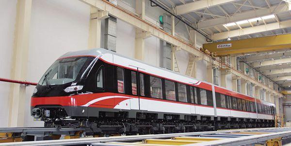 """第二列磁浮列车""""红车""""运抵星城"""