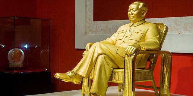 世界最大毛泽东金像:造价1亿
