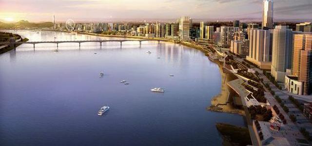 打造湘江沿岸旅游线 湘江西岸将现两大亲水平台
