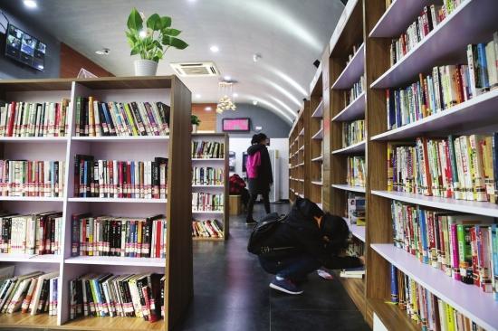 湖南图书馆24小时自助馆内现多种不文明行为