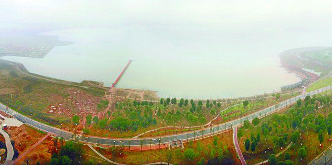 长沙松雅湖南部园林全部建成 投资1.1亿