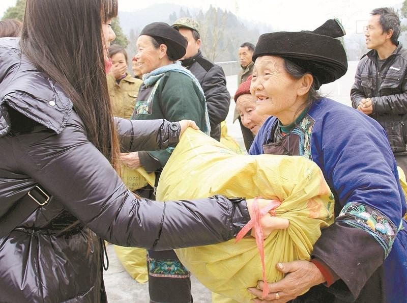 2015精准扶贫的湖南故事:他们的笑脸 最美的风景