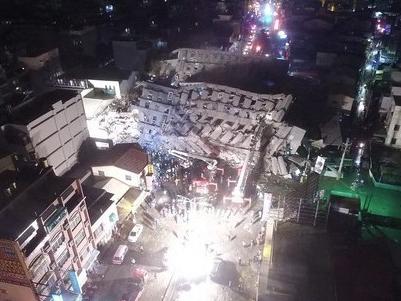 台湾地震致116人遇难 倒塌大楼住户遗体全部寻获
