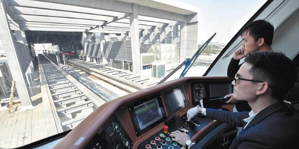 长沙磁浮最快下月按图试跑 之后将投入载客试运营