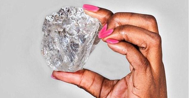 安哥拉发现404克拉巨钻 价值近1亿元