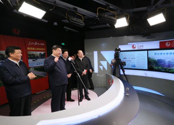 习近平通过人民网视频连线赤溪村