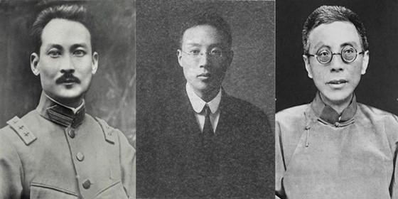 """揭秘蒋介石身后那些""""拜把""""兄弟"""