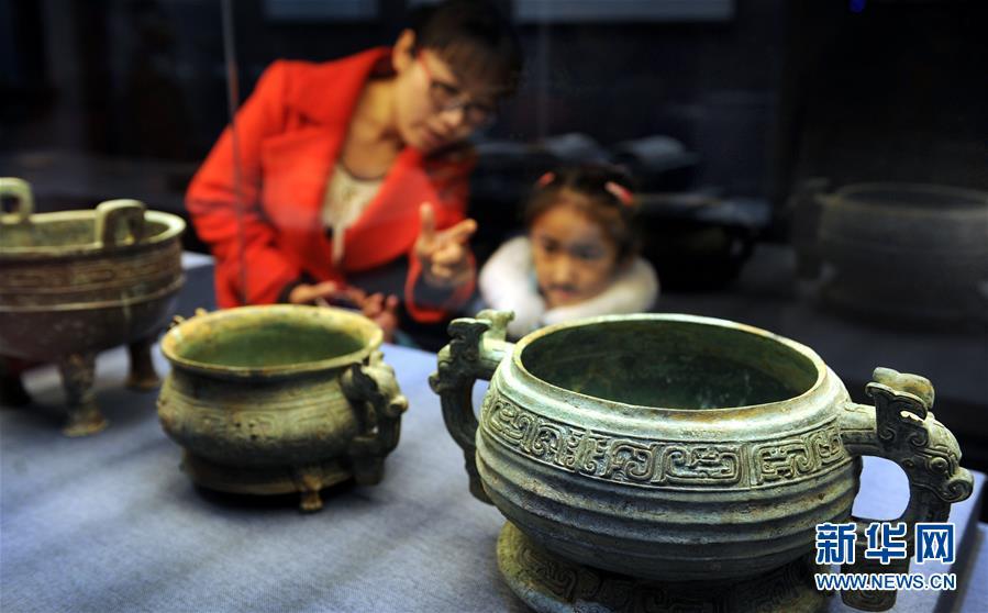 (文化)(1)陕西渭南博物馆开馆 圆明猴首亲迎八方客