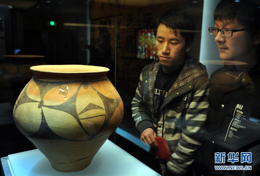 (文化)(4)陕西渭南博物馆开馆 圆明猴首亲迎八方客