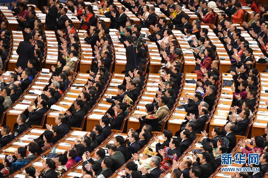 (两会·人大开幕)(2)十二届全国人大四次会议在京开幕