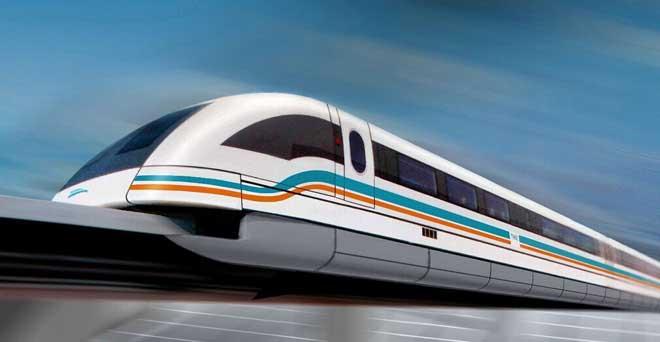 诗歌丨杨跃伟贺长沙磁悬浮列车试运