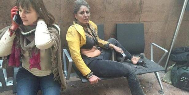 中国幸存者还原布鲁塞尔机场爆炸:刚下大巴就听到巨响