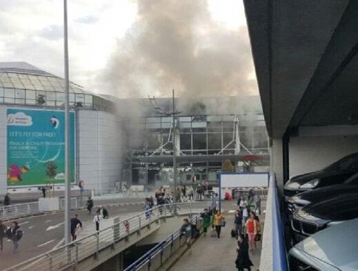 布鲁塞尔恐怖袭击目击者:到处都有伤者倒地