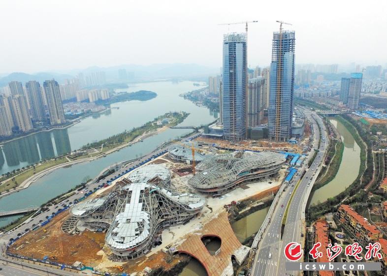 长沙梅溪湖国际文化艺术中心大剧院,多功能小剧场,艺术馆主体钢结构