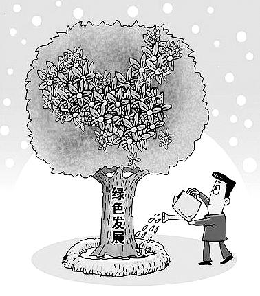 从政治高度深刻认识绿色发展理念重大意义