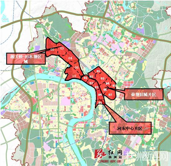 株洲石峰区清水塘规划建设8个地铁站10个快速公交站