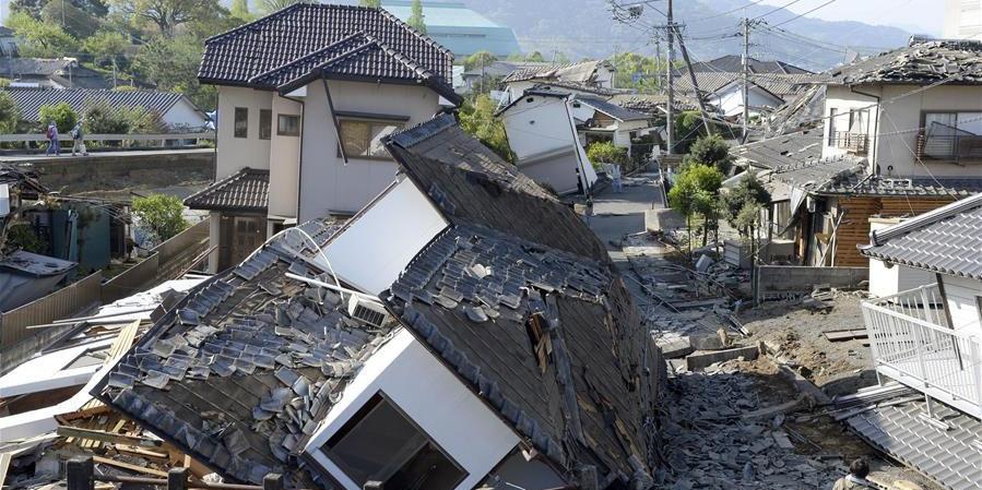 日本九州发生7.3级地震