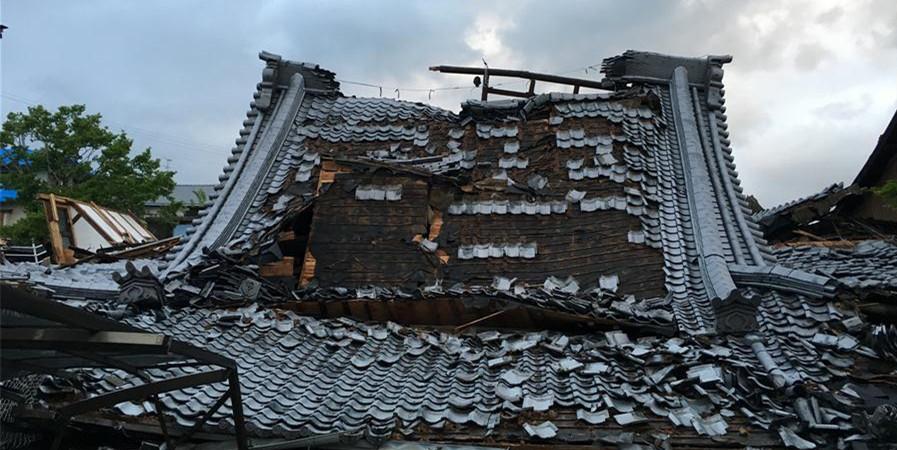 日本九州7.3级强震最新现场画面