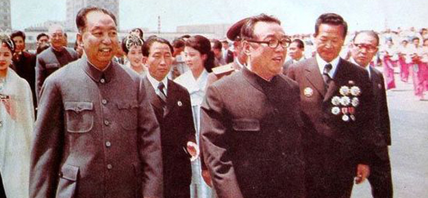 1978年华国锋罕见访问朝鲜
