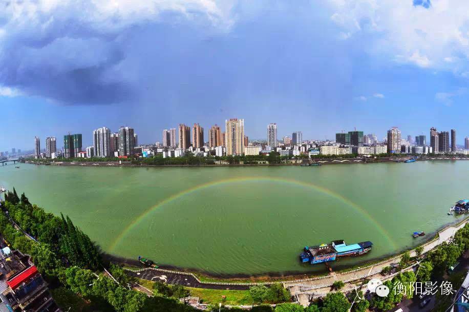 呈现出衡阳最为亮丽的城市风景线.