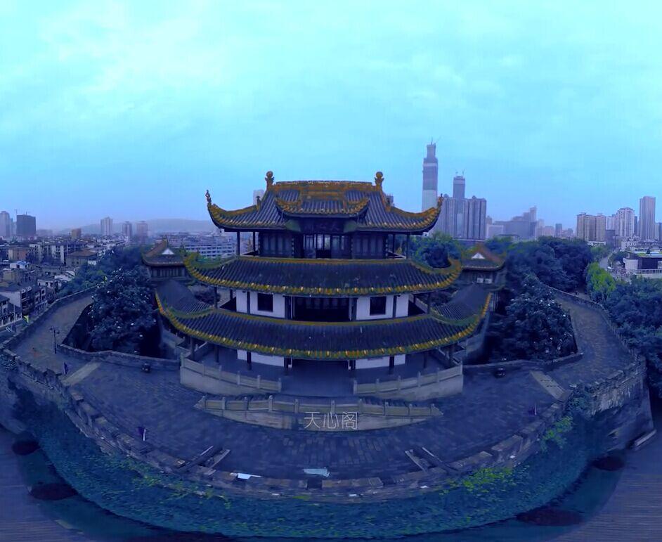 长沙古城标志:天心阁