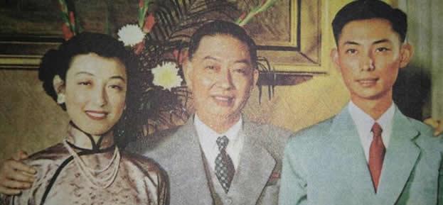 梅葆玖昔日与父亲梅兰芳照片曝光