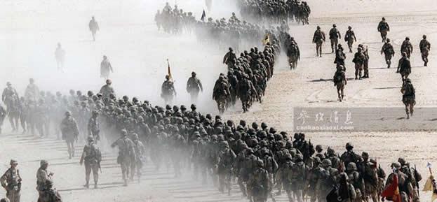 """25年前""""沙漠风暴""""横扫萨达姆百万兵"""