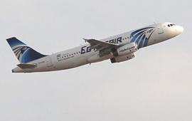 一架从巴黎飞往开罗的客机从雷达上消失