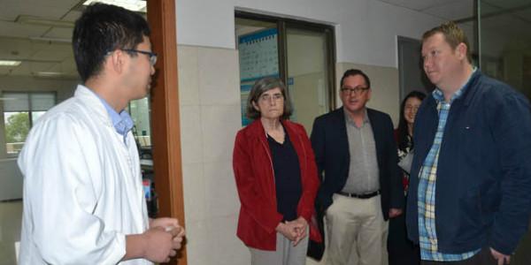 澳大利亚公共卫生学专家长沙交流结核病国际合作