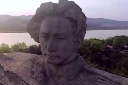 """""""中国第一洲"""":橘子洲"""