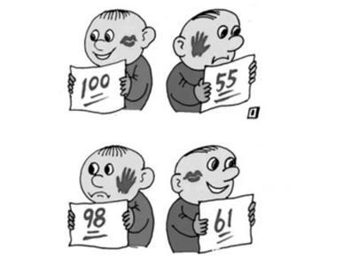 湖南高考作文漫画作者夏明:多年前在湘读职校
