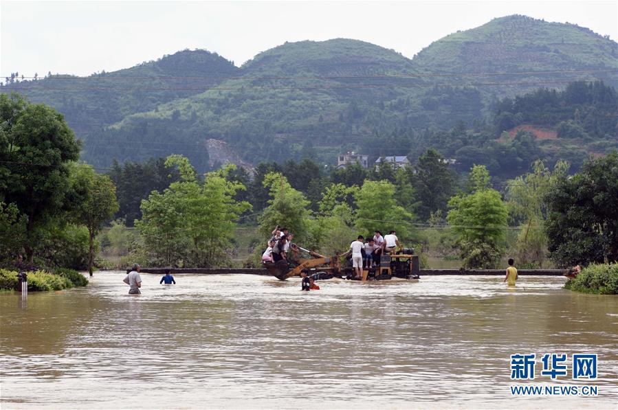 湖南暴雨 部分景区关闭(名单)