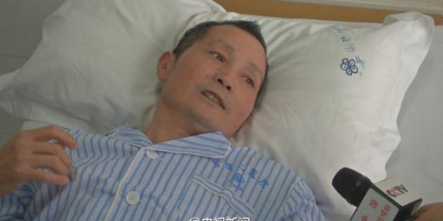 """长沙""""镜面人""""心脏长在右边 手术治疗成功"""