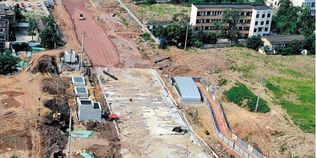长沙黄兴北路9月底主线通车 今起湘雅路口封闭施工