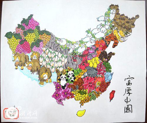 """""""美丽中国""""第三届全国少儿手绘地图大赛娄底赛区结果揭晓"""