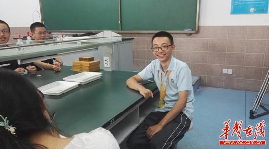 长沙市一中学生魏泽林获第27届国际生物奥赛金牌 已保送北大