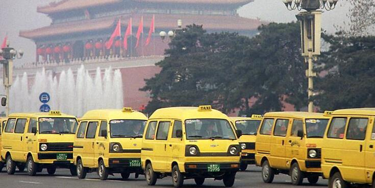 """从""""面的""""到""""互联网+""""――中国出租车发展回眸"""