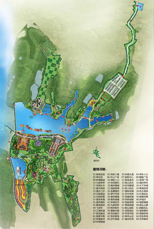 宋城风景场景图