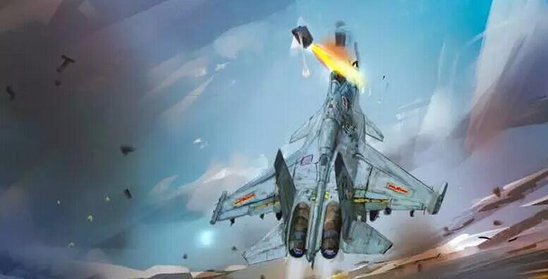 还原张超牺牲现场:歼-15机头上仰80°丢失弹射高度