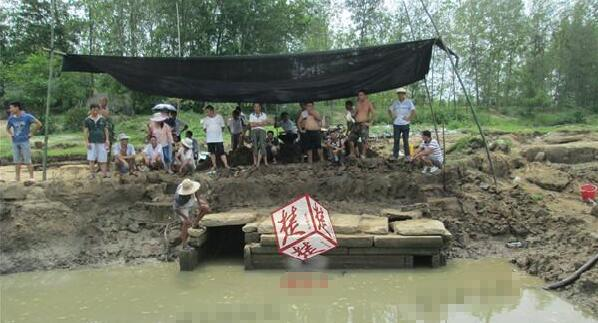 湖北村民捕鱼意外发现宋朝古墓 已有七八百年历史