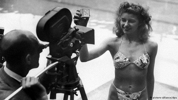 不老的比基尼:镜头记录70年的变化