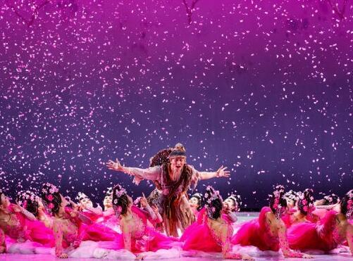 舞剧《桃花源记》在国家大剧院向首都观众展演