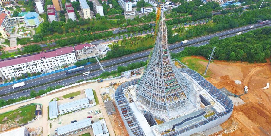 长沙县星沙生态公园二期基本完工