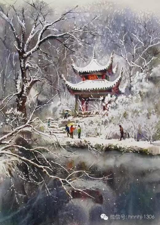 m*56cm 水彩画-中国梦 潇湘情丨探源母亲河采风作品线上展