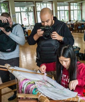 法国摄影师行摄湖南 用镜头讲诉湖南之美