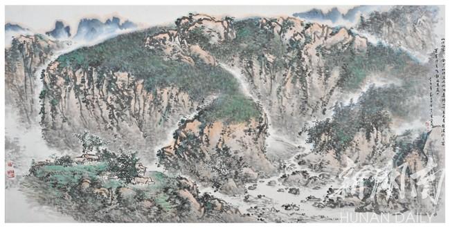 最喜欢宗岱先生的雪景山水小品系列.