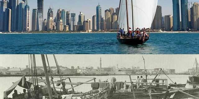 """图揭""""中东曼哈顿""""迪拜50年巨变为何这么富"""