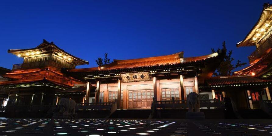 【聚焦G20】京杭大运河杭州段夜景璀璨